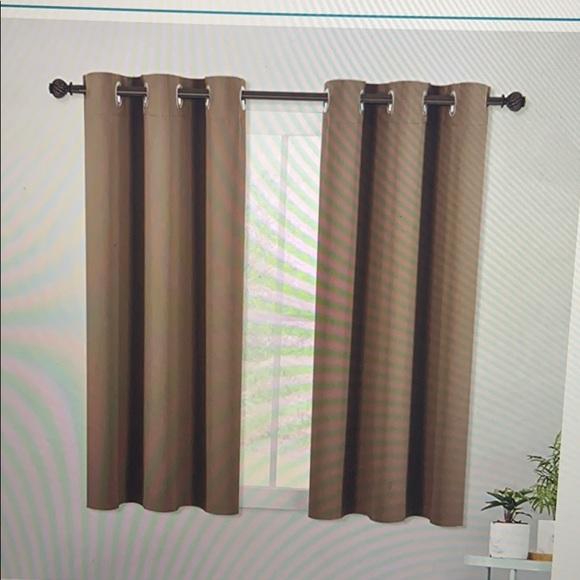 Blackout curtains